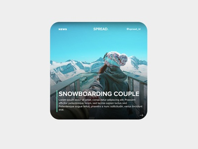 SPREAD ID | Instagram News Template instagram template template news branding news app newsfeed instagram post instagram freebies