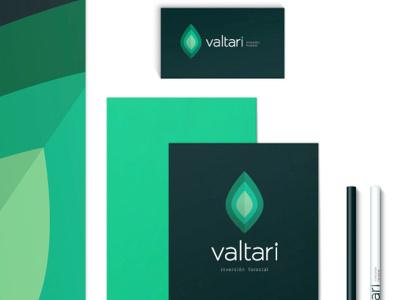 Valtari green ecofriendly investments branding