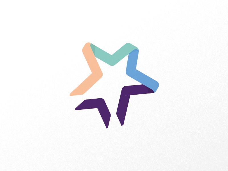 Star Logo brand volunteer week unity symbol logo star