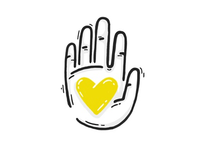 Social Impact help love charity volunteering volunteer heart hand impact social icon
