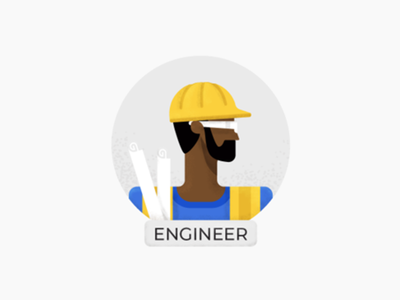 Engineer by Alex Iacobus on Dribbble
