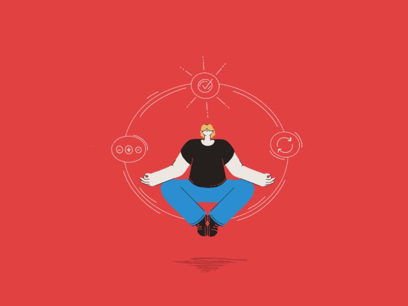 Zen agile team levitate character process agile zen