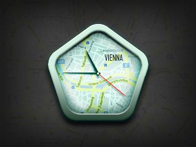 Location Clock Widget