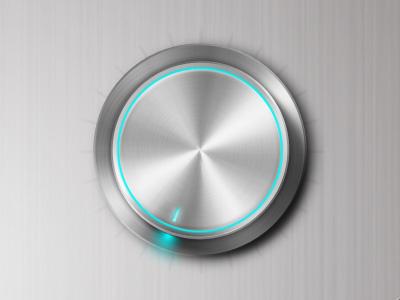 LED-VOL metal volume led knob dial silver