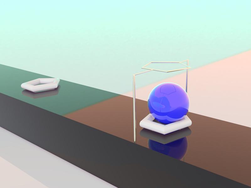KONTAKT loop 3d art art 3d animation