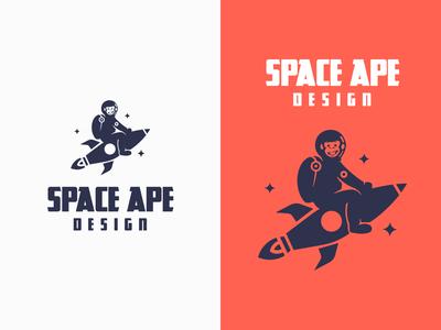 Space Ape - Logo Concept logo concept logo designer logos logotype logodesign logo design logo