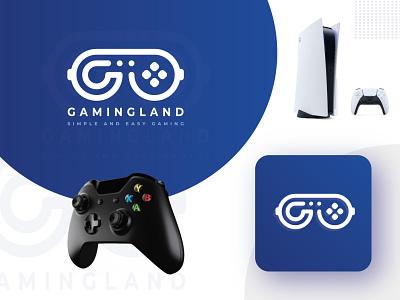 GamingLand Logo Concept logo mark logo designer logo creator logo design logotype logo concept logo gamingland gamingpad game logo