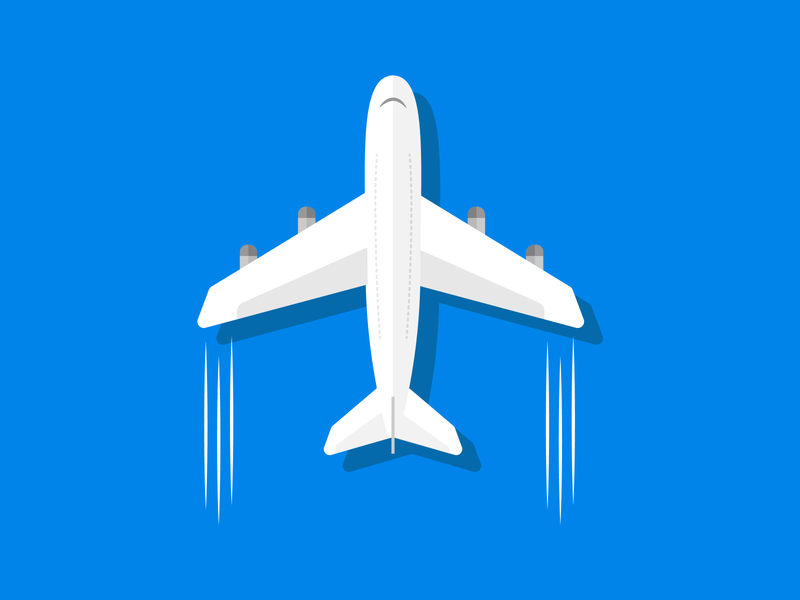 Plane branding illustrator aerospace plane aviation airplanes airplane aeroplane minimal flat icon vector design illustration