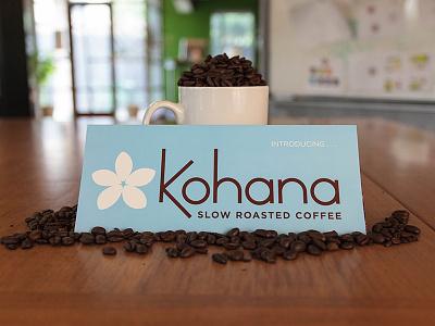 Kohana print identity coffee