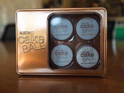 Austin Cake Ball Packaging Tin packaging tin bakery cake cake ball