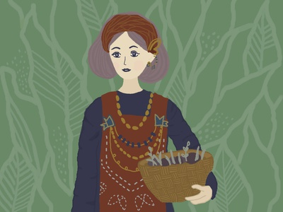 Illustration digital art digital illustration jewellery fashion traditional illustration character illustration