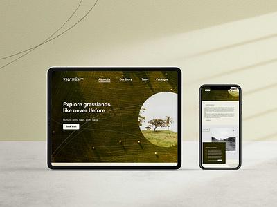 Landing Page Design web design ui design nature luxury website design landing page landing page design
