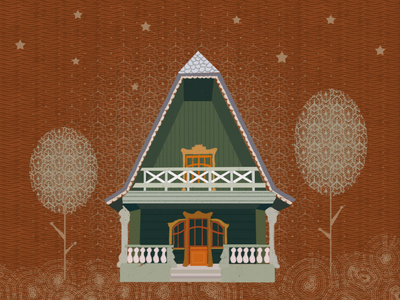 Dream House Project home illustration house illustration home digital art illustration digital illustration