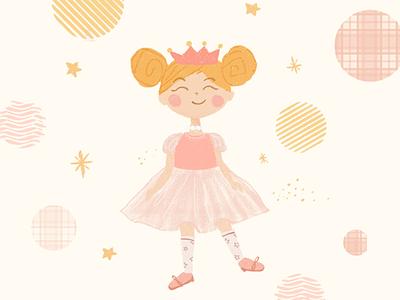 Ballerina illustraion dance ballet digital art digital illustration character illustration