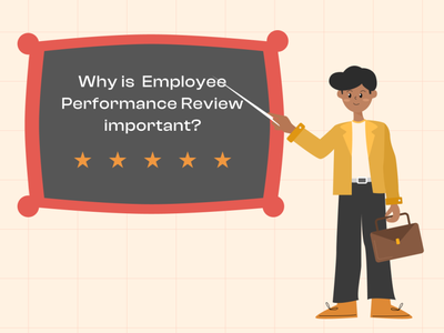 Importance of performance review employee review blog character illustration illustration digital art digital illustration