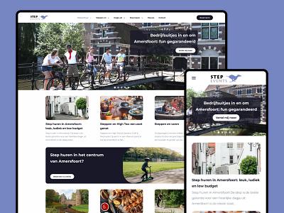 Website - Step Events webdesign design web website ux ui