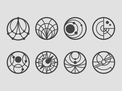 Icons For A Thing neat-o space icons