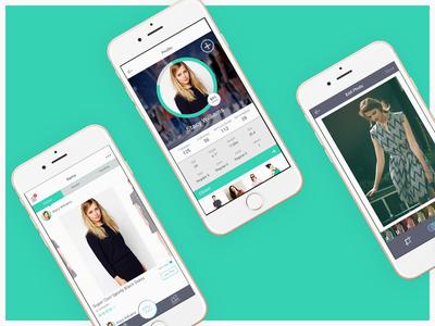 Unused iOS Mockups camera phone fashion mobile ios