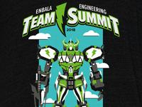 Enbala Power Ranger Shirt