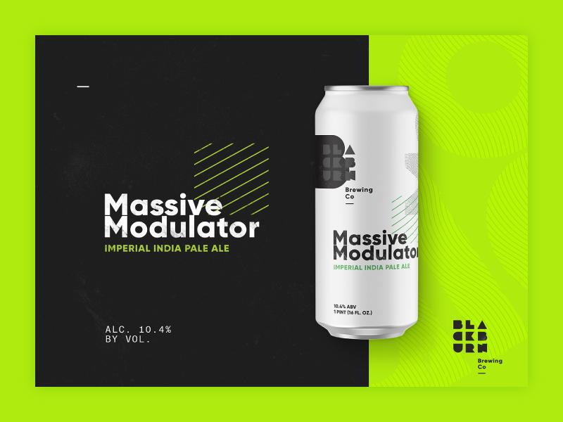 NYC Blackburn Brewing Co. craft beer website packaging identity design lettering beer branding