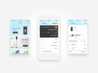 Watercooler App Design (Store)