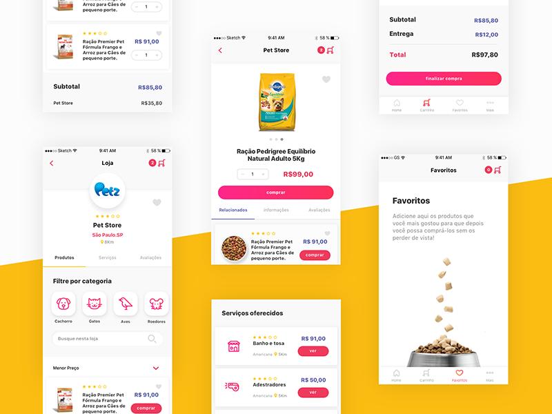 Pet Marketplace App