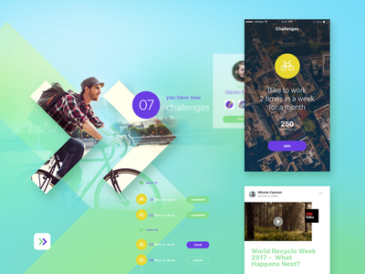 Social Network #2 experience user ux ui startup layout design interface ios app network social