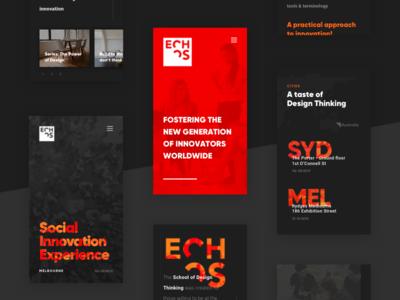School of Design Thinking App ios education thinking school design experience user ux ui interface app