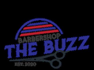 The Buzz typography presentation branding logo design