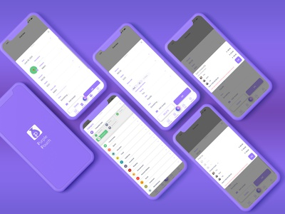 Add new expense screens - Purple Pouch expense add figma uiux expense tracker expense manager design ux ui