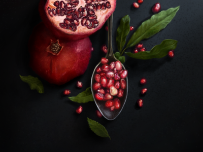 Realistic drawing fruits pomegranate/رسم واقعي لفاكهة الرمان how to shade how to render dessin disegno like a pro 3d drawing 3d art top drawing top painting hyperrealistic drawing hyperrealism how to draw fruits pomegranate art realism drawing tutorial drawing how to draw realistic drawing