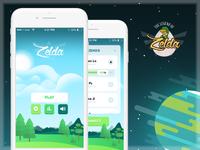 The Legend of Zelda - IOS Mobile Game Concept UI/UX