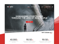 Story Telling - Landing Page