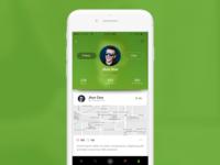 Profile Mobile App UI/UX