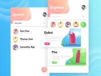 ExploreMe - Explore Cities App
