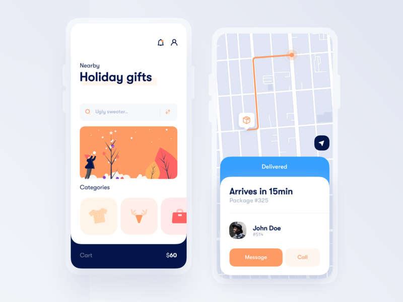 Gifts delivery App 🎄