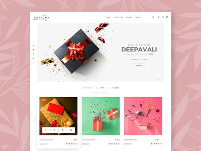 festoon website and logo art minimal website web ux ui logo typography graphic design design