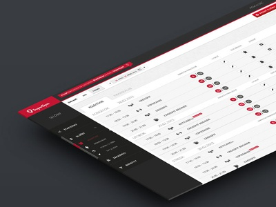 Back-end for a booking service