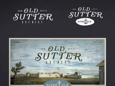 Osb River Ale - Beer Brand / label  beer branding design contest logo label packaging identity craft beer