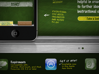Look For App - Classroom observations iphone app iphone ipad green app