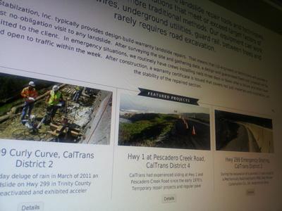 Geo redesign design website corporate clean