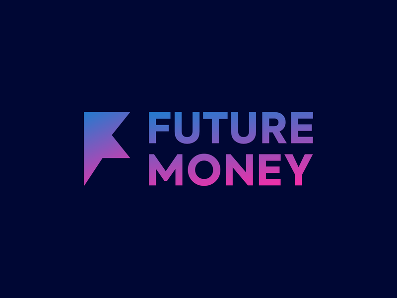 Future Money Podcast money cover art podcast logo podcast art cover minimal podcast branding logo