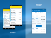 Flight Search Result | Airline Mobile App Redesign Concept (WIP)