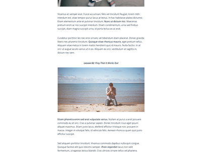 Blog Post accounting simple minimal webdesign uidesign flat layout post article single blog entry blog