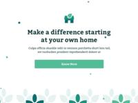 #DailyUI :: 003 - Landing Page