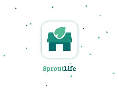 #DailyUI :: 005 - App Icon app design app icon nature minimalist green form dailyui