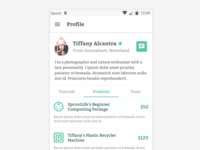 #DailyUI :: 006 - User Profile