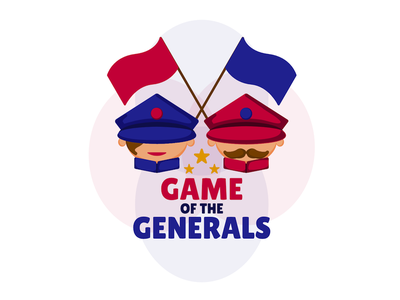 Game of the Generals - Logo - Intro game of the generals cartoon logo generals game