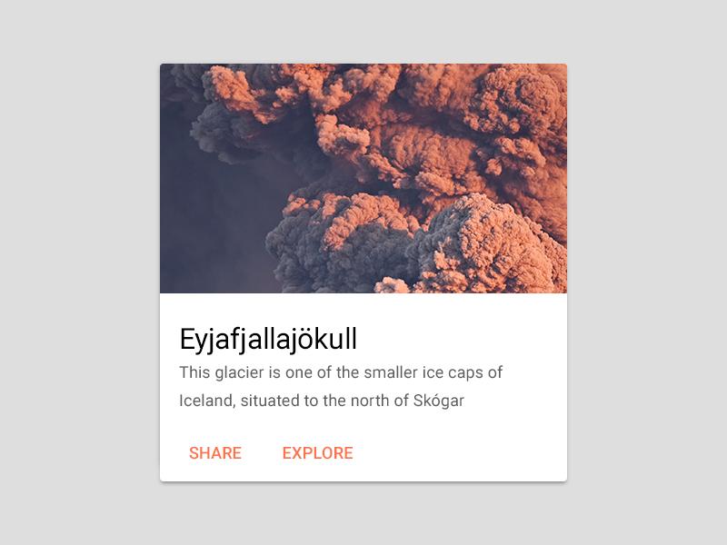 Material Card PSD free psd eyjafjallajökull download cards content block coplanar google roboto psd card material design material