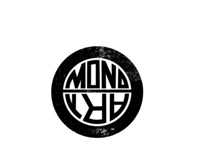 MonoArt branding logo design digital art sketch pencil art illustration